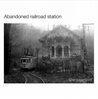 Have so many videos I want to post on @haunted.videos :(: Abandoned railroad station Have so many videos I want to post on @haunted.videos :(