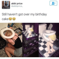It's my birthday today 🙌🎂: abbi price  @abbiprice  Still haven't got over my birthday  cake It's my birthday today 🙌🎂