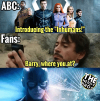 "Abc, Batman, and Marvel Comics: ABC  Introducing the Ihhumans!  Fans  Barry, where you at? Kinda worried about ""Inhumans."" Not liking the costumes and looks that much. Are you ladies and gentleman concerned for the new series?? If not, tell us why! - - __________________________________ thenerdybros Trendy Robin wonderwoman flash cyborg superman JusticeLeague Batman thedarkknight nightwing like4like lukethenerdybro jamesthenerdybro instagood DC marvel comics superhero Fandom marvel detectivecomics warnerbros superheroes amazing hero comics avengers starwars justiceleague harrypotter starwars follow4follow _________________________________ Check out our personal accounts @jamesthenerdybro and @lukethenerdybro ! Also our YouTube channels link is in the bio!"
