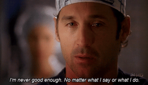 https://iglovequotes.net/: abcD  I'm never good enough. No matter what I say or what I do. https://iglovequotes.net/