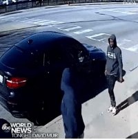 Chicago, Fire, and Memes: abcWORLD  NEWS  TONIGHT DAVIDMUIR GUN FIGHT: The Civilian Office of Police Accountability in Chicago released surveillance video showing an off-duty police officer exchanging fire with two suspects trying to steal his car in broad daylight on a busy city street in April; no one was injured and the pair escaped on foot.