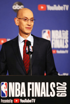 "Multiple NBA teams have had ""high-level conversations"" about getting rid of the term ""owner"" because it's racially insensitive, per TMZ Sports: abe  YoullabeTV  NBA  FINALS  ONDA FINALS  Presented by YouTubeTV Multiple NBA teams have had ""high-level conversations"" about getting rid of the term ""owner"" because it's racially insensitive, per TMZ Sports"