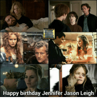 Happy birthday Jennifer Jason Leigh from Crazy about movies in Australia: ABOUT  MOVIES  Happy birthday Jennifer Jason Leigh Happy birthday Jennifer Jason Leigh from Crazy about movies in Australia