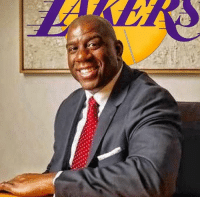 """Apparently, Basketball, and Los Angeles Lakers: Abracadabra: The signs are all there: Magic Johnson is the man in charge of the Los Angeles Lakers  (Excepts from an article in the LA Times) According to Bill Plaschke -  All indications are that unless something drastically changes, at season's end, Magic Johnson will be formally placed in charge of the team's basketball operations.  It turns out, the """"advisor'' title was apparently just an interim tag designed to reestablish Johnson as the face of the franchise until this spring, when he will be the centerpiece in Jeanie Buss' attempt to rebuild the franchise in the manner it was first constructed by her legendary father.  Johnson would call the shots that are now called by Jim Buss. He would be the voice that is currently Mitch Kupchak's. He would essentially fill the role, both spiritually and practically, that Jerry Buss once entrusted to Jerry West.  Once installed, Johnson would attempt to surround himself with a strong management team while using his star power to make the Lakers relevant again.  He would hire a general manager to run the daily operations, bring in former players as occasional consultants and spend time counseling the young Lakers while acting as a salesman for potential free agents. (Time will tell if this really happens, but you should read the entire LA Times article) #GoLakers   #RockoMamba24 #WWLG4L #LakersWorld16"""