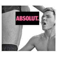 Love, Stephen, and Tbh: ABSOLUT. stephengregoryartist:ABSOLUT SLUT - mixed media, Stephen Gregory 2015 Me publically: eww this is SO gross Me privately: hmmm . i would do this for someone i love tbh