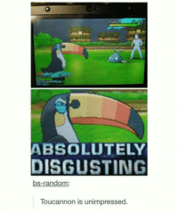 Toucannon doesn't like this meme ... tough luck! 😌 Sent in via DM by @cactifrens who is now a FunnyPokemonAmbassador ! Thanks! ___________ Want to become an official FunnyPokemonAmbassador too? Then DM us your best and funniest pokemon memes to feature 😀 ___________ Pokemon Pokémon Nintendo GameFreak PokemonSunandMoon PokemonXY TeamValor TeamMystic TeamInstinct Funny FunnyMemes PokemonGo PokemonGoMemes PokemonMemes Pokemon20 Memes lol ポケットモンスター PokemonMaster PokemonTrainer PokemonFan Gaming GottaCatchemAll GamerLife Anime pikachu otaku manga: ABSOLUTELY  DISGUSTING  bs-random:  Toucannon is unimpressed. Toucannon doesn't like this meme ... tough luck! 😌 Sent in via DM by @cactifrens who is now a FunnyPokemonAmbassador ! Thanks! ___________ Want to become an official FunnyPokemonAmbassador too? Then DM us your best and funniest pokemon memes to feature 😀 ___________ Pokemon Pokémon Nintendo GameFreak PokemonSunandMoon PokemonXY TeamValor TeamMystic TeamInstinct Funny FunnyMemes PokemonGo PokemonGoMemes PokemonMemes Pokemon20 Memes lol ポケットモンスター PokemonMaster PokemonTrainer PokemonFan Gaming GottaCatchemAll GamerLife Anime pikachu otaku manga