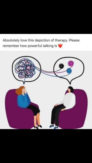 I hope this helps people who need it :): Absolutely love this depiction of therapy. Please  remember how powerful talking is I hope this helps people who need it :)