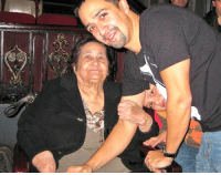 Memes, Miguel, and Abuela: Abuela Mundi seeing In The Heights, Miguel peeking through https://t.co/BicUMIMxfT