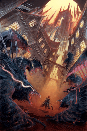 abz-j-harding:  Here is my cover for Titan Comic's Bloodborne series issue 15.Out September 18th x: abz-j-harding:  Here is my cover for Titan Comic's Bloodborne series issue 15.Out September 18th x