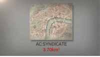 Game, Maps, and Video: AC:SYNDICATE  3.70km2 This is how video game maps compare https://t.co/cJacXvoubA