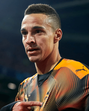 this picture of footballer looks like it's come from a game showcasing ther super realistic graphic (UEFA): AC this picture of footballer looks like it's come from a game showcasing ther super realistic graphic (UEFA)
