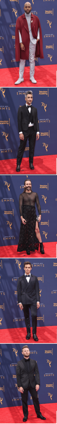 theholleywoodsigns: whoredrigo:   asexualbeckett:  The Fab Five | Emmy Awards Red Carpet | September 9, 2018 (x x)  Ok but Karamo and Johnathan went all the way OFF   Can we bring back the Angelina Jolie leg pls : Academy  EMMMT S  Television  Academy  IVE ARTS  M Y S  CREATIVE  EMM  CREATIVE ARTS  Tele  Aca  RTS  YS  EMMYS  Television  Academy  on  my  on  hy  CREA  E M   CREATIVE AR  EMM  Television  Academy  ATIVE ARTS  MYS  elevision  cademy  CREATIVE ARTS  EMMYS  Television  Academy  VISIO  dem  CREATIVE ARTS  MMYS   CRE  Television  Academy  CREATIVE ARTS  EMMY S  Television  Academ  EATIVE ARTS  MMYS  Television  Academy  EMMY S   CREATIVE ARTS  EMMYS  Tele  Aca  CREATI  E M  viSIOn  emy  ARTS  CREATI  Y S  Ac  Tele  Aca  ARTS  ion  my  Y S  evision  ademy  CREATIVE ARTS  EM MY   ATIVE ARTS  MY S  Television  Academy  CREATIVE  ARTS  Telev  Acad  CREATIVE ARTS  EMMYS  sion  my  elevision  Academy  Te  Ac  CREATIVE ARTS  EMMY theholleywoodsigns: whoredrigo:   asexualbeckett:  The Fab Five | Emmy Awards Red Carpet | September 9, 2018 (x x)  Ok but Karamo and Johnathan went all the way OFF   Can we bring back the Angelina Jolie leg pls