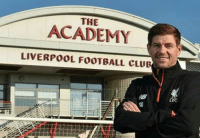 Memes, Steven Gerrard, and Academy: ACADEMY  LIVERPOOL FOOTBALL CLUB  FC Steven Gerrard has returned to Liverpool in a full-time capacity to take up a position within the academy.