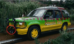 According to an interview with Joseph Mazzello (Tim Murphy's actor), in Jurassic Park (1993), the self-driving cars are actually each piloted by a single crew member crouched in the back of the Ford Explorer. The crew members used cameras attached to the front of the car to see where they were going: According to an interview with Joseph Mazzello (Tim Murphy's actor), in Jurassic Park (1993), the self-driving cars are actually each piloted by a single crew member crouched in the back of the Ford Explorer. The crew members used cameras attached to the front of the car to see where they were going