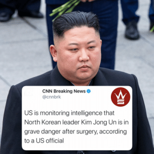 """According to reports, a US Official """"with direct knowledge"""" says North Korean President Kim Jong Un is in grave danger after undergoing surgery.""""Kim recently missed the celebration of his grandfather's birthday on April 15, which raised speculation about his well-being"""" says @CNN https://t.co/547Klfn5nI: According to reports, a US Official """"with direct knowledge"""" says North Korean President Kim Jong Un is in grave danger after undergoing surgery.""""Kim recently missed the celebration of his grandfather's birthday on April 15, which raised speculation about his well-being"""" says @CNN https://t.co/547Klfn5nI"""