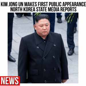 According to reports, North Korea's state news agency, KCNA, said on Saturday the leader, Kim Jong Un, attended the completion of a fertilizer plant in a region north of the capital, Pyongyang, in the first report of his public activity since April 11 👀🤔 Via @globalnews https://t.co/ifkyNAV2Yz: According to reports, North Korea's state news agency, KCNA, said on Saturday the leader, Kim Jong Un, attended the completion of a fertilizer plant in a region north of the capital, Pyongyang, in the first report of his public activity since April 11 👀🤔 Via @globalnews https://t.co/ifkyNAV2Yz