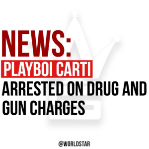 """According to reports, #PlayboiCarti has been arrested in #Georgia for drug and gun charges. Carti was found with """"12 bags of marijuana, xanax, oxycodone and codeine, along with 3 firearms,"""" says @TMZ. He has since posted bond and was released this morning. 😳😩 https://t.co/Dz1f1gS2Dv: According to reports, #PlayboiCarti has been arrested in #Georgia for drug and gun charges. Carti was found with """"12 bags of marijuana, xanax, oxycodone and codeine, along with 3 firearms,"""" says @TMZ. He has since posted bond and was released this morning. 😳😩 https://t.co/Dz1f1gS2Dv"""
