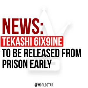 According to reports, #Tekashi69 has been granted a compassionate release by a NY Judge so the rapper can avoid catching the #coronavirus in prison. 69 will be serving the rest of his 2 year sentence from home. Thoughts? 👇🤔 @TMZ https://t.co/HKi7QIvdJd: According to reports, #Tekashi69 has been granted a compassionate release by a NY Judge so the rapper can avoid catching the #coronavirus in prison. 69 will be serving the rest of his 2 year sentence from home. Thoughts? 👇🤔 @TMZ https://t.co/HKi7QIvdJd