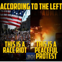 ACCORDINGTO THE LEFT  THIGISA  HISA  RACERIOTA PEACEFUL  PROTEST Ever read the Bible? Specifically the book of Revelation.... I'm not implying anything. #charlotte #blm #terrorists #riot