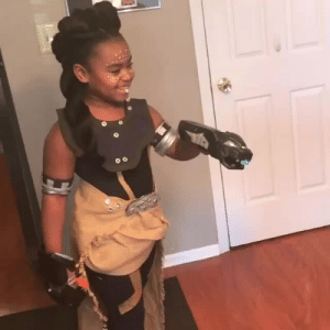 Instagram, Target, and Tumblr: accras:  Little Shuri costume for the cosplay showcase at the   Annual Black Comic Book Festival in NYC, 1/13/18.[x]
