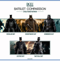 Batman, Memes, and Evolution: ACCURATE  BATSUIT COMPARISON  EVOLUTIONOFBATMAN  REGULARSUIT  KNIGHTMARESUIT  ARMOUREDSUIT  JUSTICESUIT  TACTICAL SUIT  G DCEULACCURATE DCEU Batsuit Comparison :Evolution of Batman by @dceu.accurate @benaffleck JusticeLeague Batman Steppenwolf UniteTheLeague dccomics warnerbros dccinematicuniverse dcextendeduniverse dceu dcfilms ManofSteel BatmanvSuperman DawnofJustice SuicideSquad WonderWoman JusticeLeague Aquaman GothamCitySirens TheFlash Nightwing Batgirl Cyborg GreenLanternCorp heroic_gateway @wbpictures @heroic.gateway - . . . . . -Make Sure to Give this Post a LIKE and be so kindly Leave your thoughts and comments below. Make sure to turn on Accounts Post-Notification for more of our Daily Awesome DCEU posts.