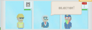 Ace Attorney reference in virtual beggar!: Ace Attorney reference in virtual beggar!