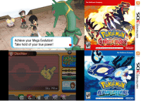 On this day in 2014, two years ago, Pokémon Omega Ruby & Alpha Sapphire were first released on Nintendo 3DS. These games are remakes of the original Ruby & Sapphire and had you go through the Hoenn Region once again to stop Team Aqua or Team Magma. This game brought many new things to the fold including 20 new Mega Evolutions, Primal Reversion and Soaring through the Sky. Did you get these games? What are your thoughts on them? Are you still playing them? http://www.serebii.net/omegarubyalphasapphire: Achieve your Mega Evolution!  Take hold of your true power!  DexNav  Sky Pillar  The Pokémon Company  AP  AP  The Pokémon Company  n On this day in 2014, two years ago, Pokémon Omega Ruby & Alpha Sapphire were first released on Nintendo 3DS. These games are remakes of the original Ruby & Sapphire and had you go through the Hoenn Region once again to stop Team Aqua or Team Magma. This game brought many new things to the fold including 20 new Mega Evolutions, Primal Reversion and Soaring through the Sky. Did you get these games? What are your thoughts on them? Are you still playing them? http://www.serebii.net/omegarubyalphasapphire