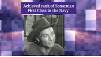 Memes, Vans, and Navy: Achieved rank of Sonarman  First Class in the Navy Today is the Birthday of western movie icon Lee Van Cleef (1925-1989)!