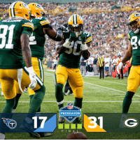 Memes, Nfl, and Nfl Preseason: ACKERS  NFL  PRESEASON  2018 FINAL: @packers start off the preseason with a WIN! #TENvsGB https://t.co/KSOBdlLQHM