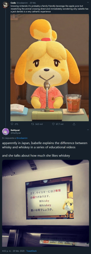 "acnl-claytown: ""Isabelle's drink of choice"" OG Tweets by @codaanim and @kaittycat : acnl-claytown: ""Isabelle's drink of choice"" OG Tweets by @codaanim and @kaittycat"