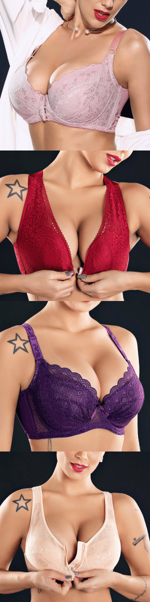 acoldwinter:   Plus Size G Cup Front Closure Embroidery Wireless Full Coverage Bras   Check out HERE   20% off coupon :October20   : acoldwinter:   Plus Size G Cup Front Closure Embroidery Wireless Full Coverage Bras   Check out HERE   20% off coupon :October20