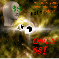 """Reddit, Today, and Com: Acquire your  own piece of  today!  hole  ONLY  6S <p>[<a href=""""https://www.reddit.com/r/surrealmemes/comments/7zhc50/on_sale/"""">Src</a>]</p>"""
