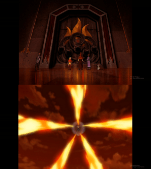 Being Alone, Windows, and Aang: Activate Windows Only a fully realized Avatar could open the doors alone; and Aang during Sozin's Comet. Coincidence? Probably.