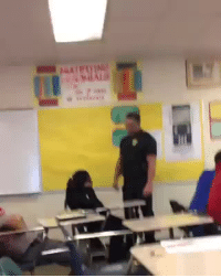 Facebook, Police, and School: actjustly:  A young black girl is attacked by a police officer in class. The video takes place at Spring Valley High School in South Carolina.  Original post is here.