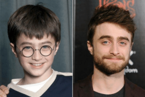 """Actor Daniel Radcliffe was chosen as the lead role in """"Harry Potter"""" due to the producers of the films selecting him during casting.: Actor Daniel Radcliffe was chosen as the lead role in """"Harry Potter"""" due to the producers of the films selecting him during casting."""