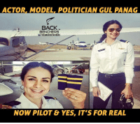 Memes, Models, and Politicians: ACTOR. MODEL POLITICIAN GUL PANAG  BACK  BENCHERS  uTHEBACKBENCHERS  NOW PILOT & YES, IT'S FOR REAL