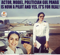 Congratulations, Models, and Politicians: ACTOR, MODEL POLITICIAN GUL PANAG  IS NOWA PILOTAND YES, ITS FOR REAL!  au  Colours com Congratulations & All The Very Best.. (Y) :)