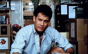"""Actor Tom Hank defecates in the middle of the set on the first day of filming any project in order to establish dominance over the cast and crew. He learned this from one of his co-stars in """"Turner and Hooch"""": Actor Tom Hank defecates in the middle of the set on the first day of filming any project in order to establish dominance over the cast and crew. He learned this from one of his co-stars in """"Turner and Hooch"""""""