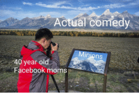 """Facebook, Moms, and Minions: Actual comedy  Shrink TeOla  Minions  40 year old  Facebook moms <p>New format&hellip; Invest! (template in comments) via /r/MemeEconomy <a href=""""https://ift.tt/2yKBr50"""">https://ift.tt/2yKBr50</a></p>"""