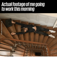Dank, Struggle, and The Struggle Is Real: Actual footage of me going  to workthis morning The struggle is real 😂😭  France Délire Pro
