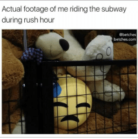Public Transportation, Rush Hour, and Subway: Actual footage of me riding the subway  during rush hour  @betches  betches.com Public transportation is so much fun