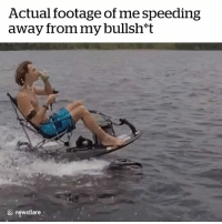 So long, suckers 😂👋: Actual footage of me speeding  away from my bullsh*t  newsflare So long, suckers 😂👋