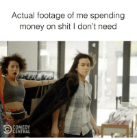 I want it. I got it. Don't miss the final season premiere of @BroadCity, Thursday at 10-9c on @ComedyCentral.: Actual footage of me spending  money on shit I don't need  COMEDY  CENTRAL I want it. I got it. Don't miss the final season premiere of @BroadCity, Thursday at 10-9c on @ComedyCentral.