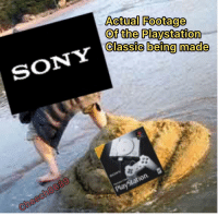 classic: Actual Footage  Of the Playstation  Classic being made  0
