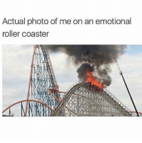 Post long weekend vibes @mystylesays: Actual photo of me on an emotional  roller coaster Post long weekend vibes @mystylesays