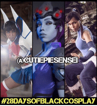 Memes, 🤖, and Craftsman: ACUTIEPIESENSE  H28DAYSOLFBLACK COSPLAY My third 28daysofblackcosplay feature goes to the spectacular @cutiepiesensei! 🙌🏾 She's got an eye for dope anime designs and is a master craftsman! Be sure to check out her page and follow her for more. -- Also be sure to follow @cosplayofcolor for daily cosplay photography that emphasizes diversity and representation. 👌🏾