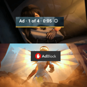 Only way to defeat YouTube Ads: Ad 1 of 4.0:05  AdBlock Only way to defeat YouTube Ads