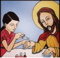 #funny It's Easter. Here's Jesus getting his nails painted. https://t.co/Ss2rIHMmr4 https://t.co/ziq9XkIdgk: ADA #funny It's Easter. Here's Jesus getting his nails painted. https://t.co/Ss2rIHMmr4 https://t.co/ziq9XkIdgk