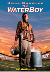 "20 years ago today, ""The Waterboy"" was released! Where does this movie rank in your favorite Adam Sandler films? 🎥🙌🤔 @AdamSandler https://t.co/aoltmv3hn5: ADAM SANDLER  THE  WATERBoY  High-Quality H2O! 20 years ago today, ""The Waterboy"" was released! Where does this movie rank in your favorite Adam Sandler films? 🎥🙌🤔 @AdamSandler https://t.co/aoltmv3hn5"