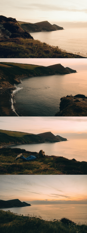 adambenhall:Sunset Point, Crackington Haven.: adambenhall:Sunset Point, Crackington Haven.
